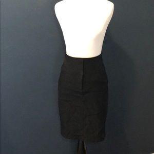 Forever 21 High Waisted Black Pencil Skirt